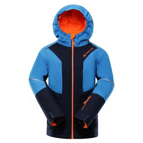 ALPINE PRO MIKAERO 3 Dětská lyžařská bunda KJCP153602 mood indigo