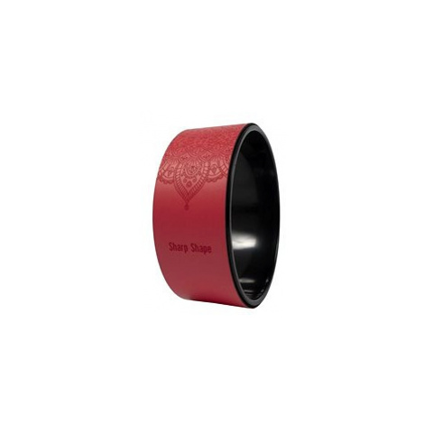 Sharp Shape Yoga wheel Mandala red