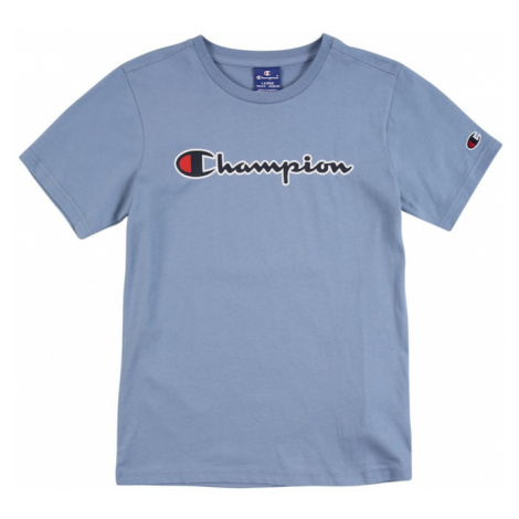 Champion Authentic Athletic Apparel Tričko šeříková / modrá