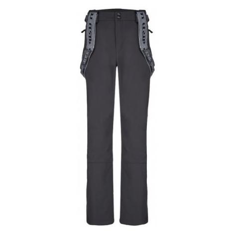 Loap LEMAR tmavě šedá - Pánské zimní softshellové kalhoty