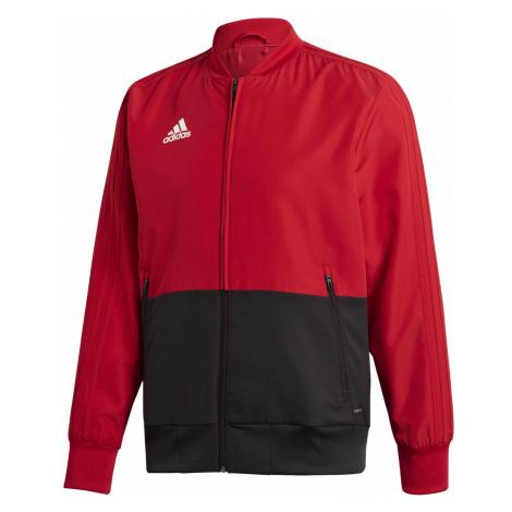 Pánská bunda adidas Performance CON18 PRE JKT Červená / Černá