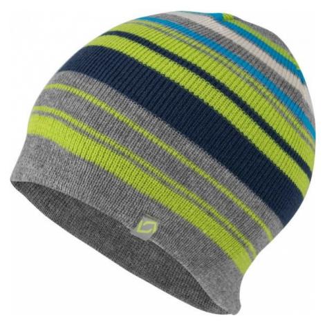 Lewro EROS šedá - Chlapecká pletená čepice