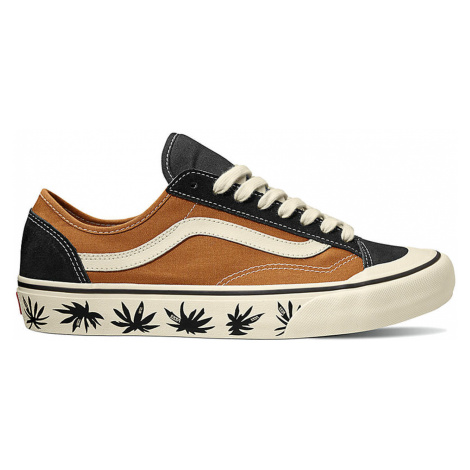 Vans Ua Style 36 Decon Sf Pumpkin Spice/Antique Wht hnědé VN0A3MVL25T