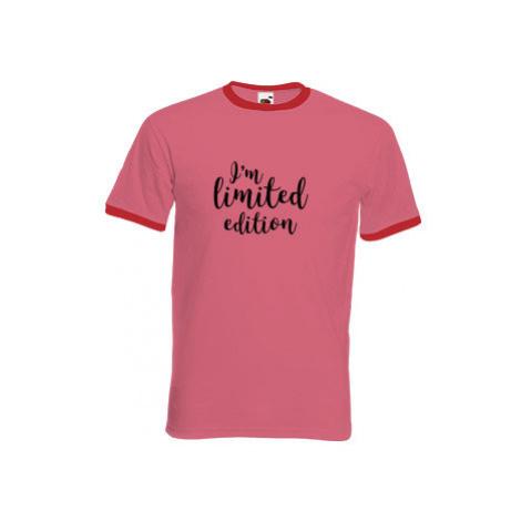 Pánské tričko s kontrastními lemy I'm limited edition