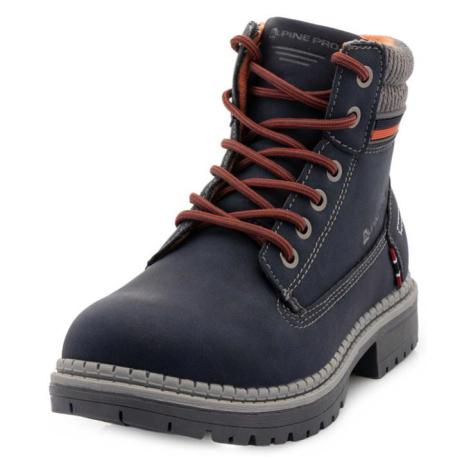 Fewro modrá dětská zimní obuv ALPINE PRO
