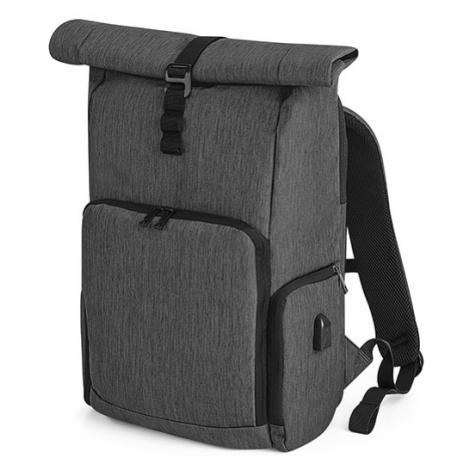 Chytrý batoh RollUP - šedý Quadra