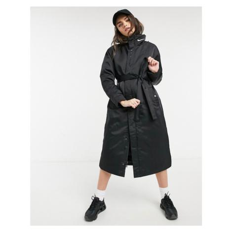 Nike trench coat in black