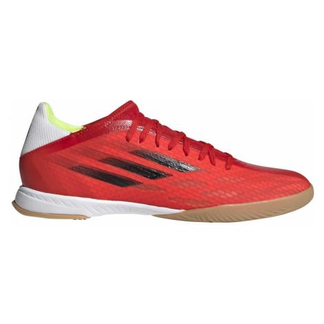 Kopačky adidas X Speedflow.3 IN Červená / Bílá