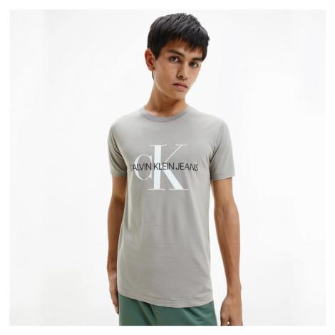Calvin Klein pánské béžové tričko
