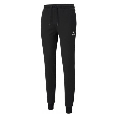Kalhoty Puma Classics Sweatpant Cuff Černá