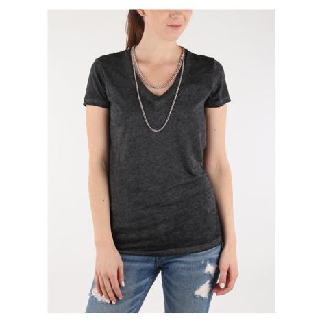 Tričko Replay W3809C T-Shirts Černá