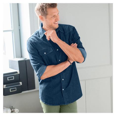 Blancheporte Džínová košile denim