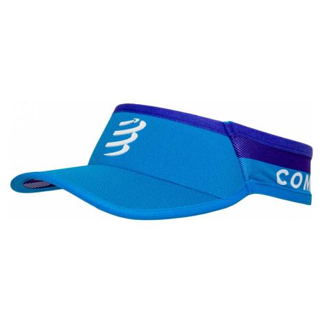 Kšilt Compressport ULTRALIGHT VISOR V2 modrá