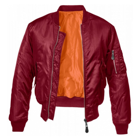MA1 Bomber Jacket - bordeaux Brandit