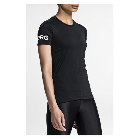 Černé tričko Tee Carla Bjorn Borg