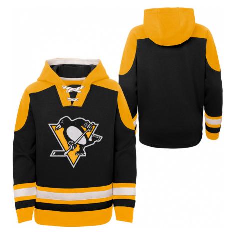 Dětská hokejová mikina s kapucí Outerstuff Ageless must have NHL Pittsburgh Penguins