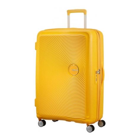 AT Kufr Soundbox Spinner Expander 77/29 Golden Yellow, 52 x 30 x 77 (88474/1371)