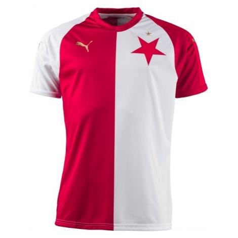 Puma SK SLAVIA CUP PRO bílá - Pohárový fotbalový dres