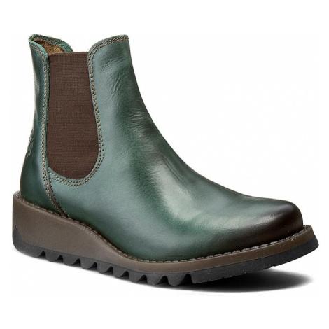 Kotníková obuv s elastickým prvkem FLY LONDON - Salv P143195006 Petrol