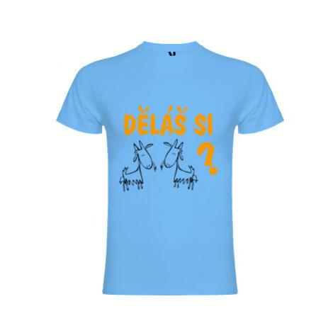 Pánské tričko Premium Děláš si kozy