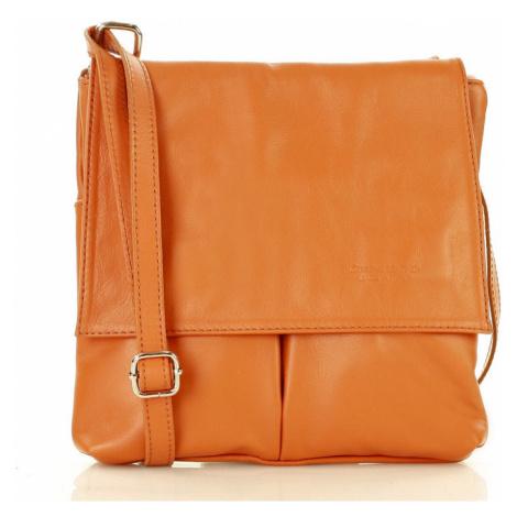 Přírodní kožená taška model 142006 Mazzini UNI