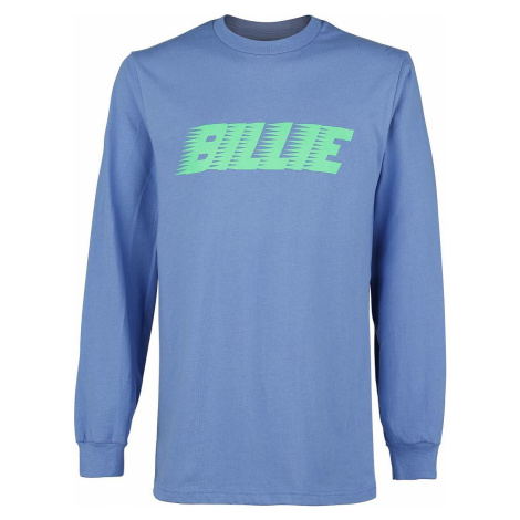 Eilish, Billie Racer Logo Blosh tricko s dlouhým rukávem modrá