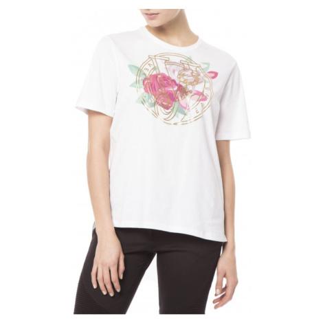 VERSACE JEANS Bílé dámské tričko