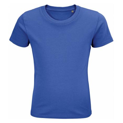 SOLS Dětské triko PIONEER KIDS 03578241 Royal blue SOL'S