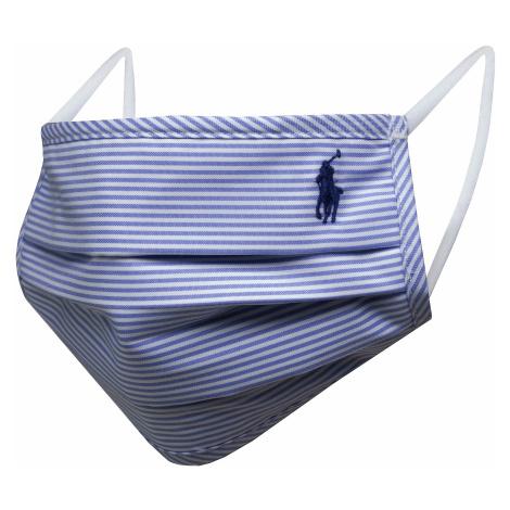 Látková rouška POLO RALPH LAUREN - Mask B 710837367001 Blue/White