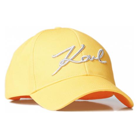 Žlutá kšiltovka KARL LAGERFELD