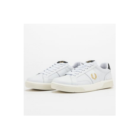 FRED PERRY B200 Perf Leather white