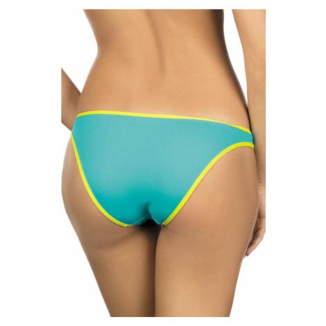 Lorin Dámské plavkové kalhotky Emma žlutozelené