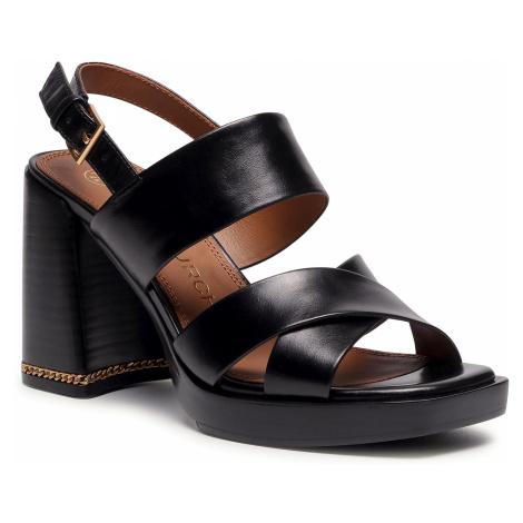 Sandály TORY BURCH - Ruby 95Mm Sandal 75474 Perfect Black 006