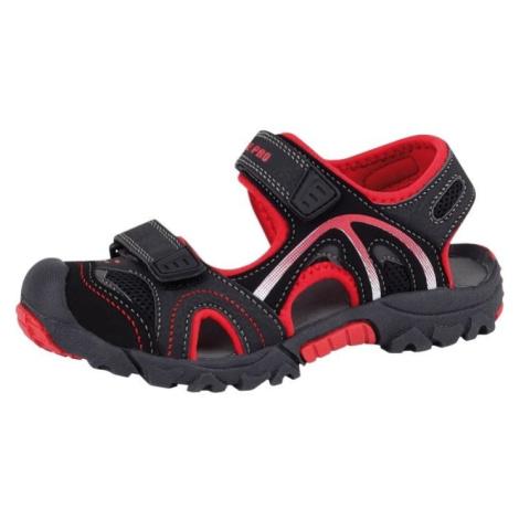 Dětské sandály Alpine Pro ARCADIA KIDS - červená