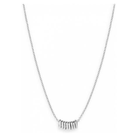 Rosefield náhrdelník Iggy Multi Hoop Necklace Silver