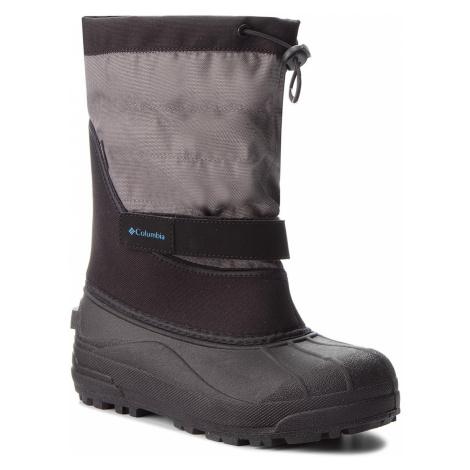 Sněhule COLUMBIA - Youth Powderbug Plus II BY1326 Black/Hyper Blue 010