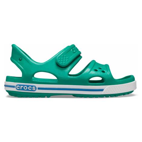 Crocs Crocband II Sandal PS Deep Green/Prep Blue J3