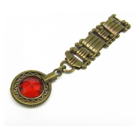 AutorskeSperky.com - Stříbrný přívěsek ke kapesním hodinkám - S2029