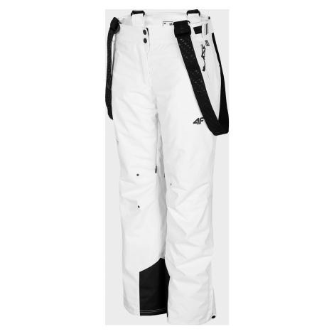 Dámské lyžařské kalhoty 4F SPDN100 Bílé