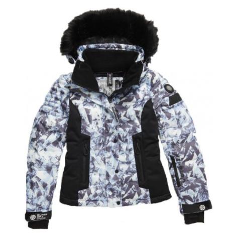 Superdry LUXE SNOW PUFFER černá - Dámská lyžařská bunda