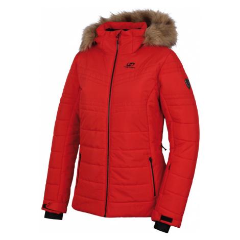 HANNAH DELANEY Dámská lyžařská bunda 10007198HHX01 high risk red