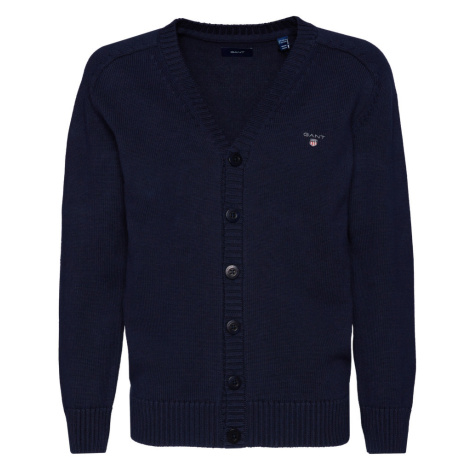 SVETR GANT D1. CASUAL COTTON CARDIGAN