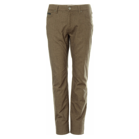 Kalhoty Brax Style Cadiz C pánské hnědé