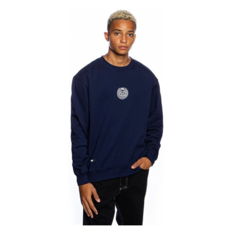 Mass Denim Sweatshirt Crewneck Base Small Logo navy