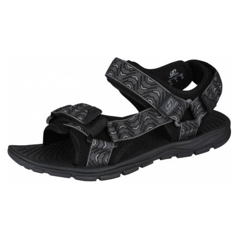 HANNAH Feet Uni sandály 118HH0206BS01 Pewter (wave)