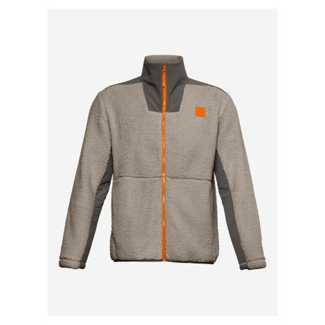 Legacy Sherpa Bunda Under Armour Šedá
