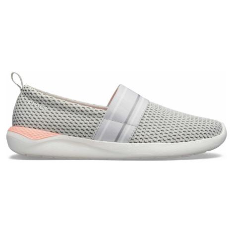 Crocs LiteRide Mesh Slip On W Pearl White/White W5