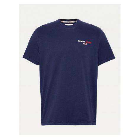 Tommy Hilfiger TOMMY JEANS pánské modré tričko TJM CHEST CORP TEE