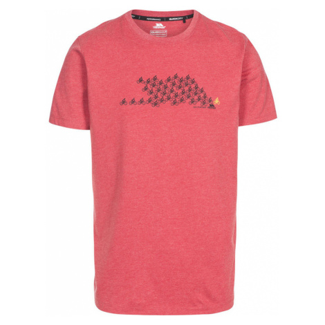 Trespass BORLIE Pánské tričko MATOTSTR0019-RML RED MARL