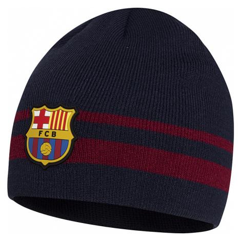 Dětská barevná čepice FC Barcelona